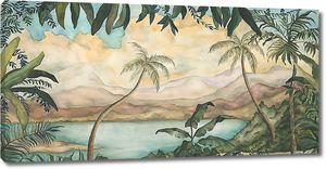 Прибрежные пальмы