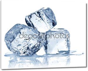 три кубика льда