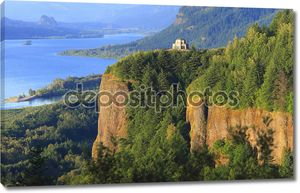 Краун Поинт, реки Колумбия ущелье Орегон.