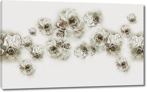 Бутончики роз