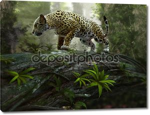 ягуар на рысканье, 3-м cg