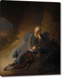 Рембрандт. Пророк Иеремия