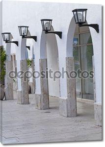 арки в здании