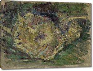 Ван Гог. Два срезанных подсолнуха