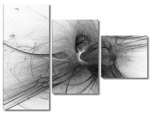 Абстрактный рекурсивный цифровой фон