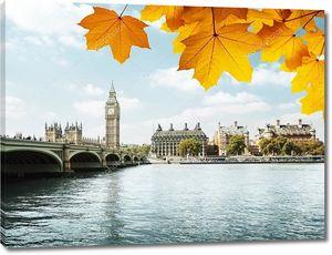 Осенние листья и Биг Бен