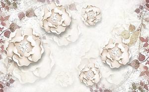 Цветы с закрученными лепестками