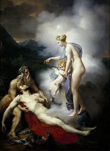 Мери Жозеф Блондель.  Венера исцеляет Энея