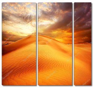 Пустыня. Бархан