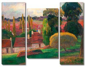 Поль Гоген. Ферма в Бретани