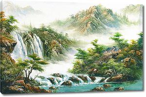Ступеньки к водопаду