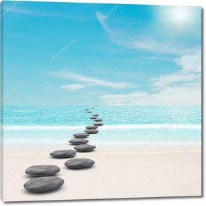Галька камни дороги концепция