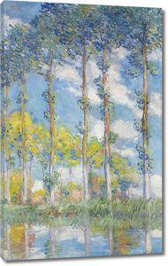 Моне Клод. Тополя, 1891