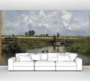 Аэс Карлос де. Фрисландский пейзаж