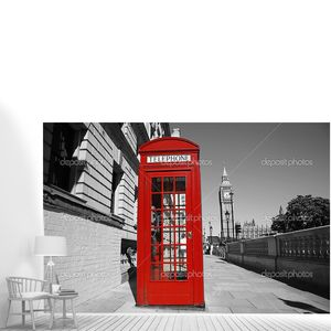 Биг Бен и красной телефонной будке
