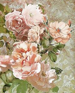 Розы. Стилизация под живопись