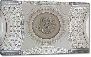 Стилизация орнамента на купольном потолке