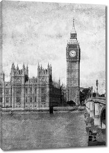 Старое фото Лондона