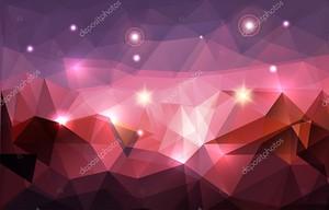 абстрактный многоугольный фон
