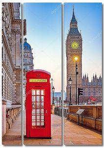 Телефонная лондонская будка