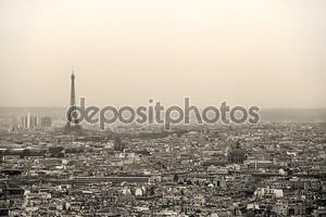 Парижский городской пейзаж