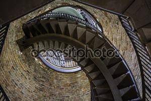 Лестница в башне Ламберти