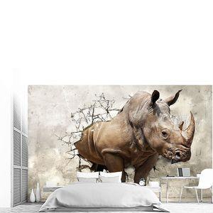 3D носорог