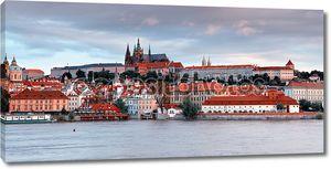 Панорама старой Праги