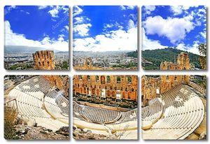 Древний театр в Акрополе, Греция