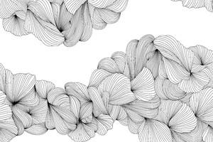 Lusso-переплетение серых линий на белом