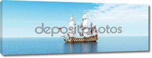 французский военный корабль