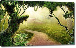 Дорога в таинственный лес
