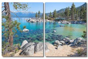 Супер прозрачное озеро