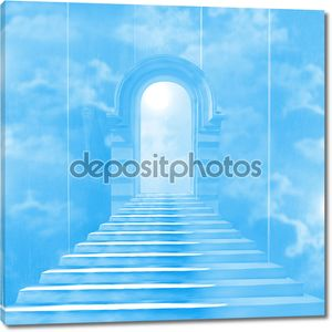 Голубая лестница в небо