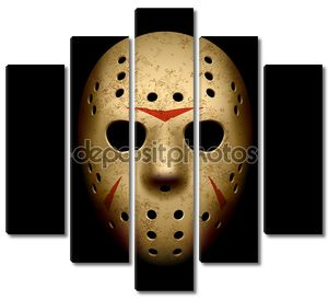 Страшно Хоккейная маска