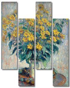 Моне Клод. Топинамбур, 1880