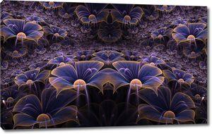 Оригинальная цветочная абстракция