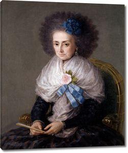Гойя и Лусиентес Франсиско де. Мария Антония Гонзага, вдова маркиза Вильяфранка