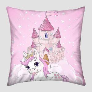 Розовой феи замок и Единорог