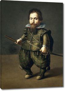 Ван дер Амен Хуан. Портрет карлика