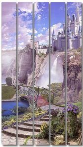 Замок на вершине обрыва