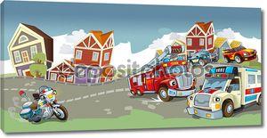 Транспортные средства на дороге