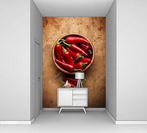 Чили перец в чаше