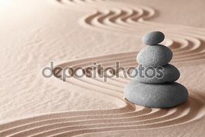 медитационный сад дзэн