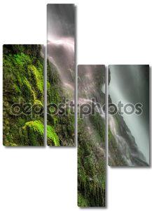 Течение водопада
