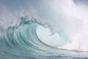 Большая волна в океане