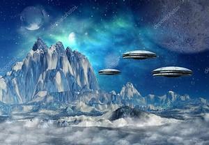 Планета пришельцев