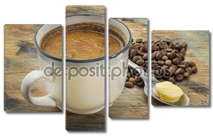 жирные кофе с маслом