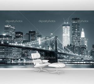 Бруклинский мост Нью-Йорка