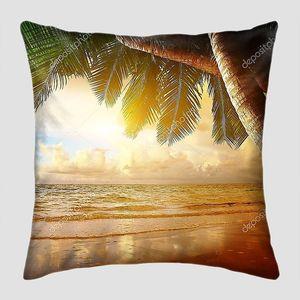 Восход солнца на Карибских островах